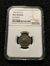 Hi1866 Shield Nickel, With Rays, Choice BU++ Better Date NGC