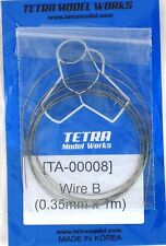 TETRA MODEL WORKS 1/35th Scale Braided Wire B 0.35mm x1m Item TA8