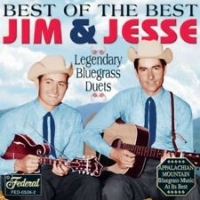 Best Of The Best - Jim & Jesse (2004, CD NEUF)