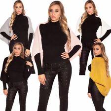 Bauchfreie Damen-Pullover & -Strickware Normalgröße Koucla