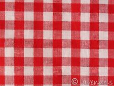 Karo Baumwolle Stoff ♥ kariert rot 0,5 Vichy Baumwollstoff