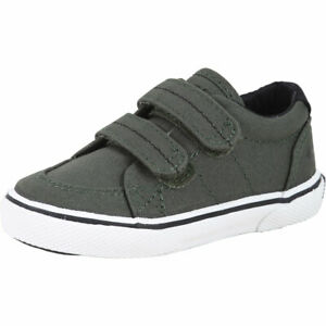 Sperry Top-Sider Toddler Boy's Halyard H&L Olive Sneakers Shoes Sz: 6T