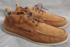 Sperry Top Sider Mens 12 M Boardwalk Chukka Suede Leather Boots Fashion EUC!!