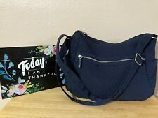 Vera Bradley LARGE On the Go Crossbody Classic Navy