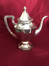 ANTIQUE AMERICAN STERLING SILVER ARTS AND CRAFTS LEBOLT TEAPOT 746 GRAMS NO MONO