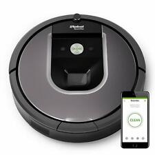 iRobot Roomba 960 Saugroboter Silber Tierhaare WLAN-fähig App AeroForce NEU OVP