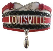 University of Louisville Cardinals Fan Shop Infinity Bracelet Jewelry
