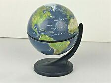World Globe Earth Map Rotating Geography Ocean Classroom Learning Desktop 4�