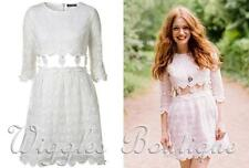 Topshop Lace Floral Boho, Hippie Dresses for Women
