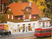 Faller Pola 653 H0 Bahnhof  Grünstein Radstadt Bausatz NEU