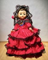 "Vintage Spanish Madam Alexander International Series Doll  8 1/2"""