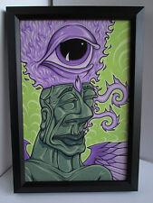 "Original GILLDKIRK Artwork Painting ""Untitled"" 2006 Pop Surrealism Low Brow"