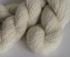 Yarn Handspun Angora Alpaca 50 50 Hand Spun Yarn Natural Cream Undyed 1.7 oz