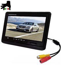LCD 7' POLLICI TFT CON TELECOMANDO CASA CAMPER TVCC MACCHINA AUTO MONITOR