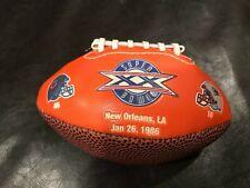 Chicago Bears Super Bowl XX Mini Football