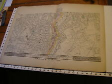 Bacon's London 1880's map # 11, Cabrerwell, champion hill, stockwell