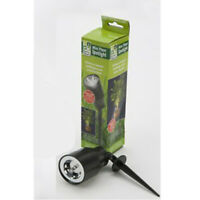 Roots & Shoots - Mini LED Plant Spotlight - Battery Operated In Black Colour