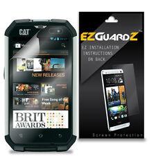 4X EZguardz Screen Protector Skin Cover Shield HD 4X For Caterpillar CAT B15Q