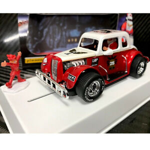 Pioneer P118 Santa Legend Racer 34 Ford Coupe Candy Slot Car 1/32 Scalextric DPR
