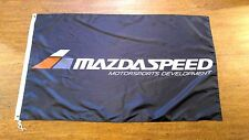 MAZDASPEED FLAG BANNER 3X5FT MAZDASPEED3 MAZDASPEED6 MAZDASPEED MX5