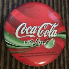 Coca Cola With Lime Pin/Badge 2005