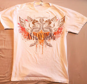 AS I LAY DYING Official/Licensed Band Shirt Slim Fit  Size Medium