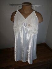 Victorias Secret Size medium Lingerie White Bridal Nightie Vintage