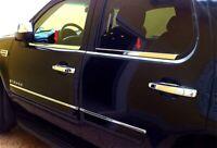 TYGER For 99-00 Honda Civic 4Door 4PC Stainless Steel Chrome Window Sill Overlay