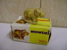 Vintage Hippo Figure No 20 Fully Boxed - Wade Whimsie