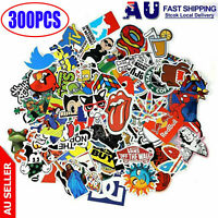 300 Random Vinyl Decal Graffiti Stickers Car Bomb Laptop Waterproof Skate Laptop