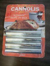 Vintage Ateco Cannoli Forms 660 Set 4 Unused Italian