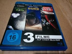 The Dark Side of the Moon/dark star/dune german language only Blu-ray used mint