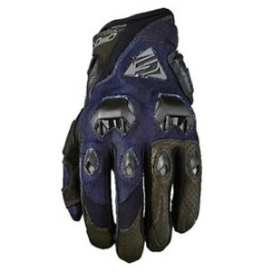 Five5 Gloves Stunt Evo Motorcycle Glove Denim