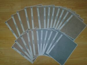 Collection of Unused Scenic Sheets for Hornby OO / HO Gauge Train Sets