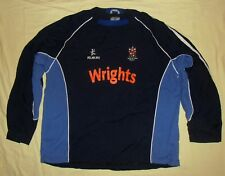 Stoke-on-Trent RUFC / KUKRI - MENS navy + blue rugby Top / Jumper. Size: 3XL