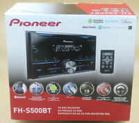 Pioneer FH-S500BT - Double-DIN In-Dash Stereo CD Receiver Bluetooth AUX MP3