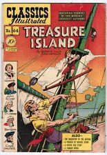 Treasure Island: Classics Illustrated 64 First Print (1949) VG+