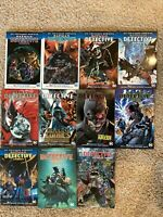 Batman graphic novel lot Detective Comics Rebirth Omnibus TPB HC vol 1 2 3 4 5-9