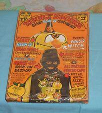 vintage KOOKY SPOOKS WONDER WITCH blow-up Halloween costume new/sealed spooky