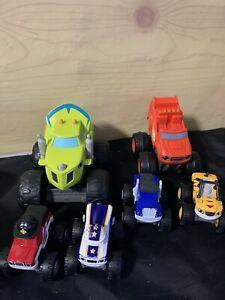 Blaze And The Monster Machines Cars Bundle. Diecast And Talking