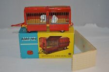 "Corgi Toys 1123 ""Chipperfield's Circus Animal Cage"" Polar bears vnmib & Packing"
