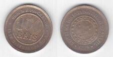 BRAZIL - 100 REIS UNC COIN 1889 YEAR KM#492