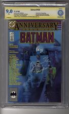 Batman (1940) # 400 - CBCS 9.0 WHITE Pages SS Ben McKenzie