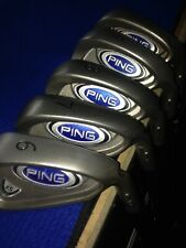 Ping i5 Iron Set 6-Pw Steel Stiff Right Std Length Silver Dt