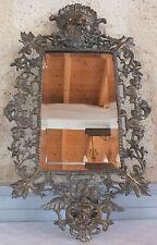 espejo bronce para colgar Época Napoleón III espejo