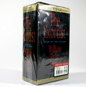 The Exorcist Audiobook on 8 Cassettes NEW FACTORY SEALED Unabridged 9 Hours 1999