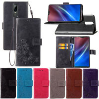 For OnePlus 6 Wallet Flip PU Leather Card Slots Magnetic Buckle Stand Case Cover