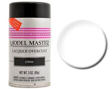 Testors Model Master Clear gloss Lacquer Spray Paint 3 oz. 1961