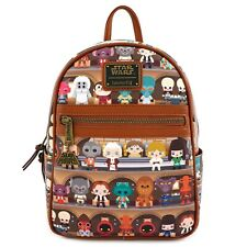 Loungefly Star Wars Cantina Faux Leather Mini Backpack