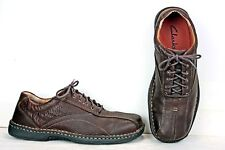 Clarks Mens Oxfords size 11 M Brown Leather Sneakers Shoes MO45